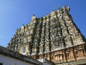Gopuram in Tiru