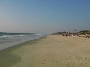 Strand in Benaulim