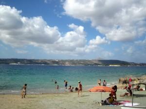 Strand in der Nähe von Rethymno