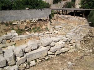 Stadtpalast in Archanes
