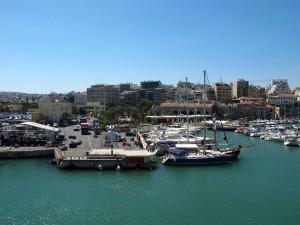 Hafen in Heraklio