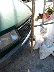 Beim Einparken sollte man jeden Millimeter nutzen.