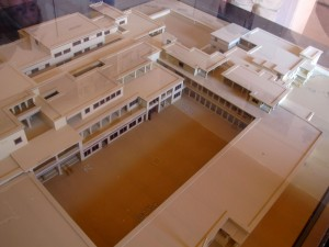 Mögliches Modell des Palastes von Malia