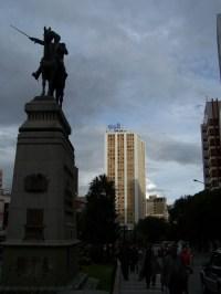 Bolivar-Denkmal auf der Avenida