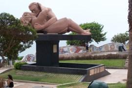 Denkmal im Parque del amor in Miraflores