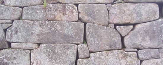Inkamauer in Machu Pichu