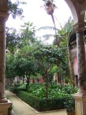 Garten in der Casa de Pilatos