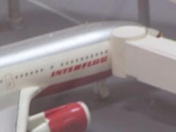 Interflug-Maschine auf Quitos Modellflughafen