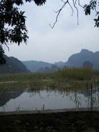 Bich Dong Landschaft