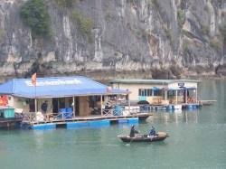 Das Bankenviertel in der Ha Long Bucht