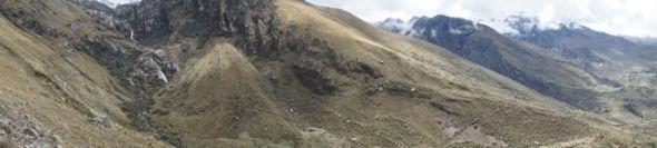 Die Berglandschaft am Churup