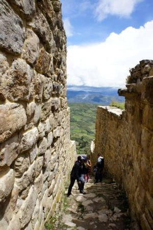 In den Ruinen von Kuelap