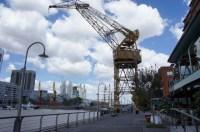 Das ehemalige Hafenviertel von Buenos Aires