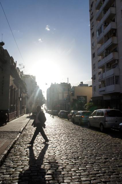 Straße in San Telmo