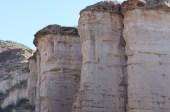 Felswand in El Chiflon (und wenn man genau hinschaut, sieht man auch den schlafenden Kondor)