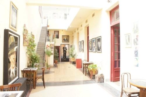 Im Haus von Carlos Gardel