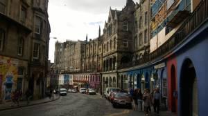Die Altstadt von Edinburgh.