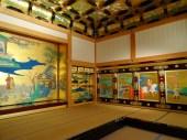 Golden room at Kumamoto castle.