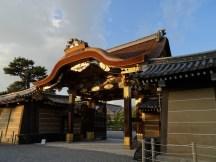 Entrance to Kyōto castle.