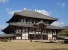 The huge hall houses the greatest Vairocana buddha.