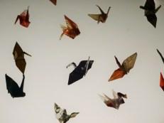 Folded cranes by Sadako Sasaki (Atomic Bomb Museum Hirosihima)