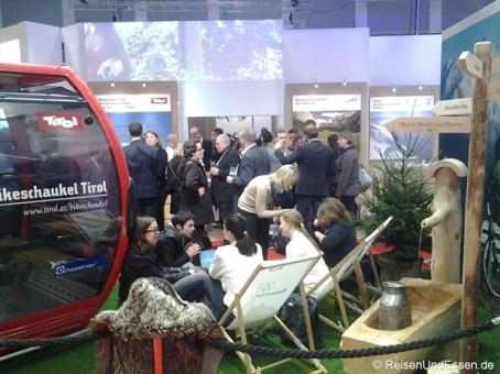 Blogger-Treffen auf den Stand von Tirol auf der ITB 2014