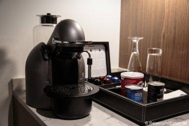 Nespresso-Maschine im Urban Style Business Class Zimmer