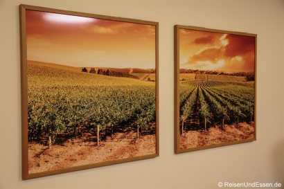 Bilder im Korridor im Radisson Blu in Karlsruhe