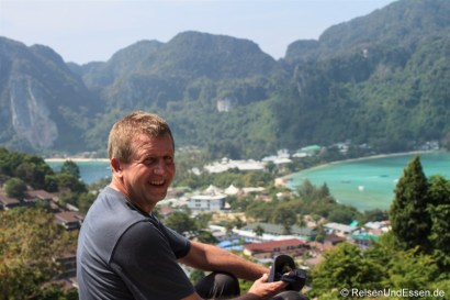 Auf dem Viewpoint in Koh Phi Phi