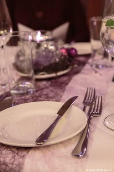 Tisch im Werzer's Velden