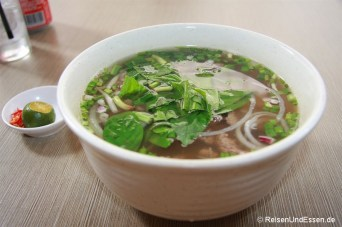 Nudelsuppe in Chinatown