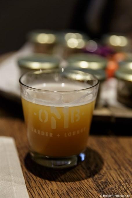 Naturtrübes Bier aus einer Privatbrauerei