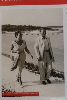 Foto von Tito mit Ehefrau