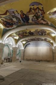Krypta im Dom des Heiligen Sava
