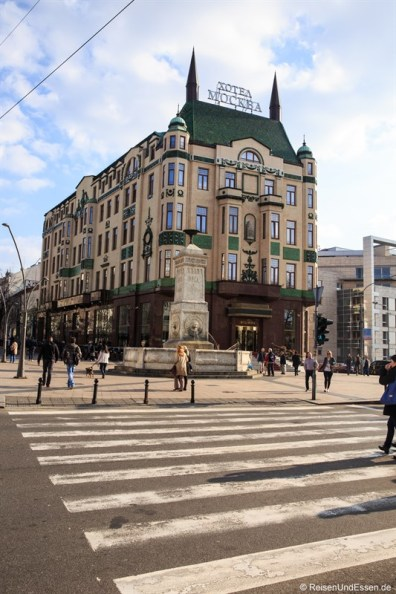 Hotel Moskau in Belgrad