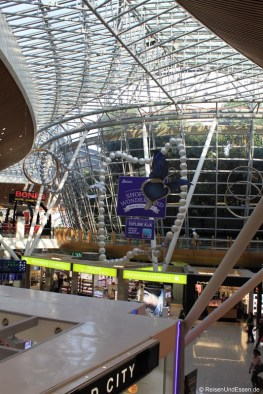 Transitbereich im Flughafen Kuala Lumpur