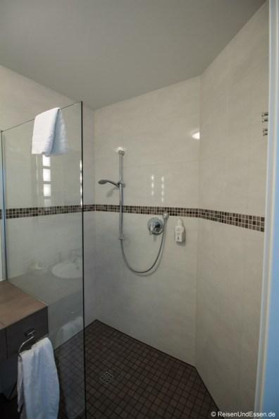 Dusche im Wildpark Hotel Bad Marienberg
