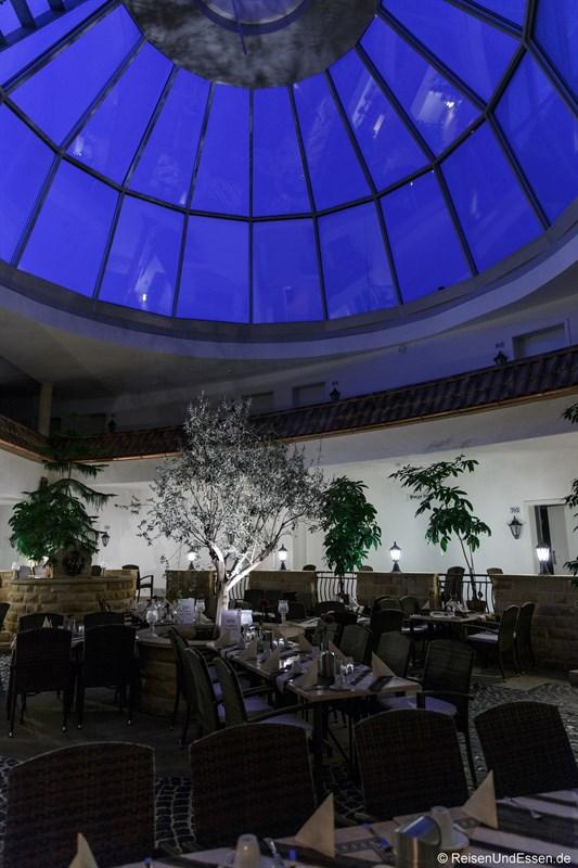 Glaskuppel im Wildpark Hotel Bad Marienberg