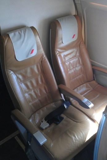 Cityjet seat
