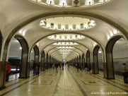 prunkvolle Metrostation - Moskau