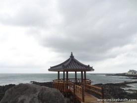 typischer Pavillon - Südkorea