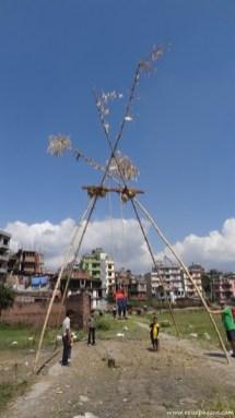 nepalesische Schaukel ;-)