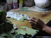 ... die Burmesen können es auch nicht lassen ihre Zähne, die Gehwege und die Straßen rot zu färben! :-(