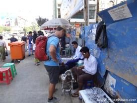 Mein Optiker des Vertrauens in Yangon