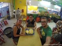 Durian Frucht. igitt...