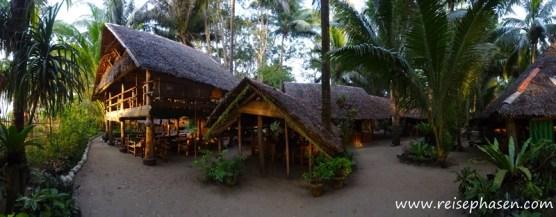 Restaurant und Aufenthaltsbereich