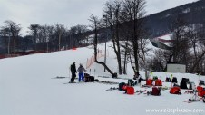 Schweizer & Kanadisches Skiteam
