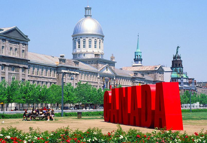 Das alte Herz von Montreal: Vieux Montréal mit der Chapelle Notre-Dame -de-Bon-Sécours