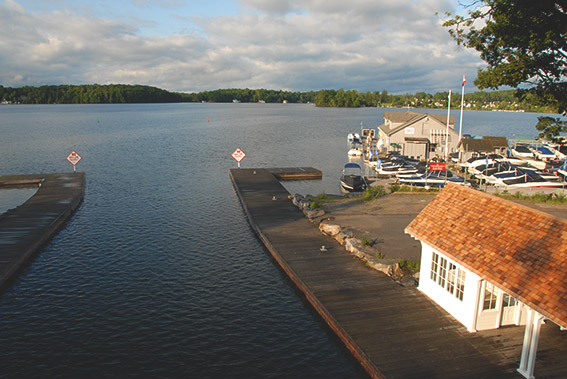 Port Sandfiled in Muskoka, Ontario