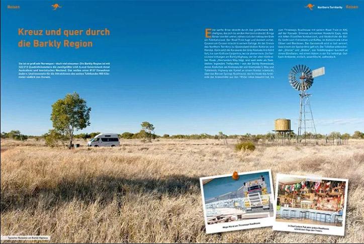 """Die Barkly-Region im Ländermagazin """"360° Australien"""""""